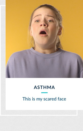 Asthma - This is my scared face