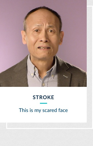 Stroke - This is my scared face
