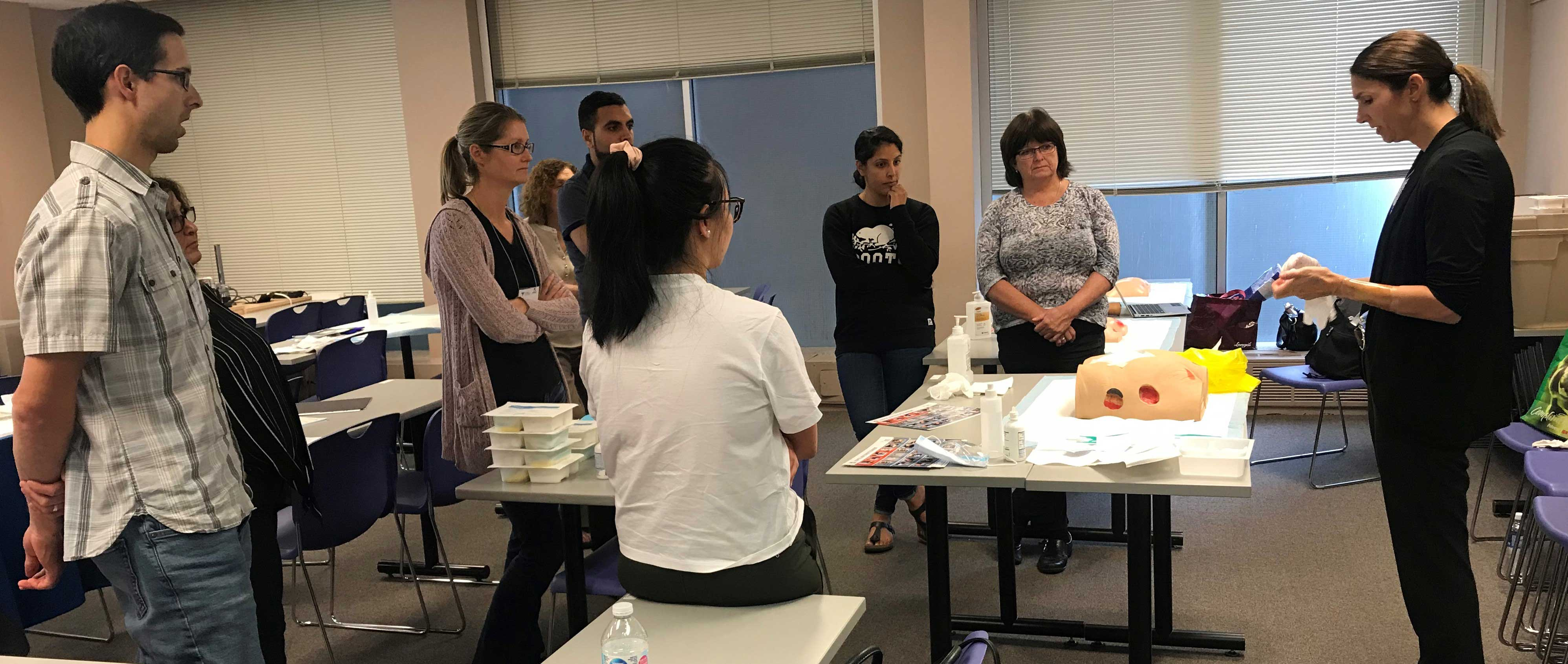 OPA-wound-care-course-attendees