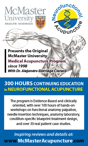 Contemporary Acupuncture Ad for continuing education