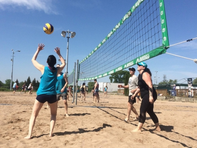 Picture of Westgate District volleyball event